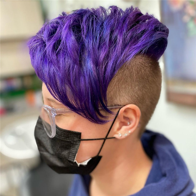 Purple Pixie Cuts Ideas That You Must Try 04