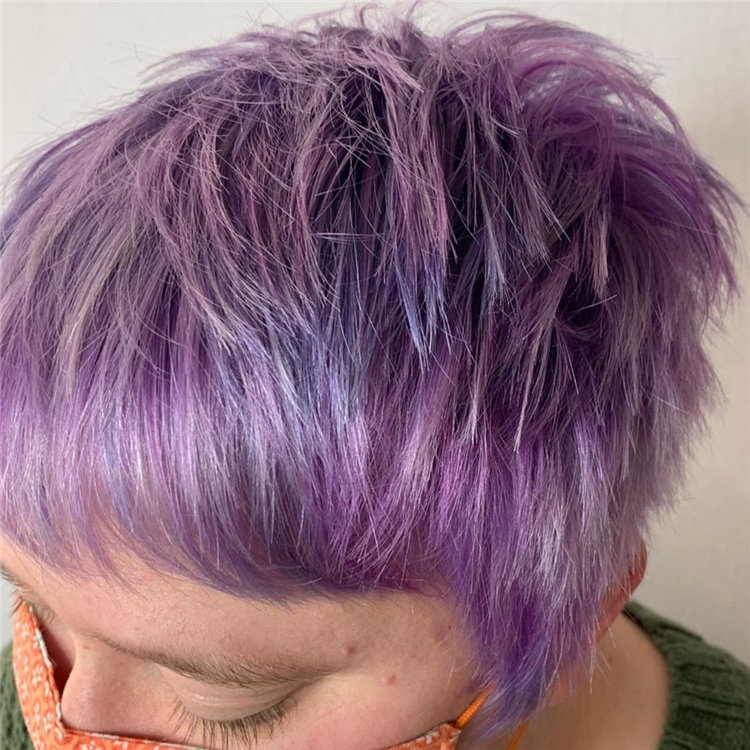 Purple Pixie Cuts Ideas That You Must Try 06
