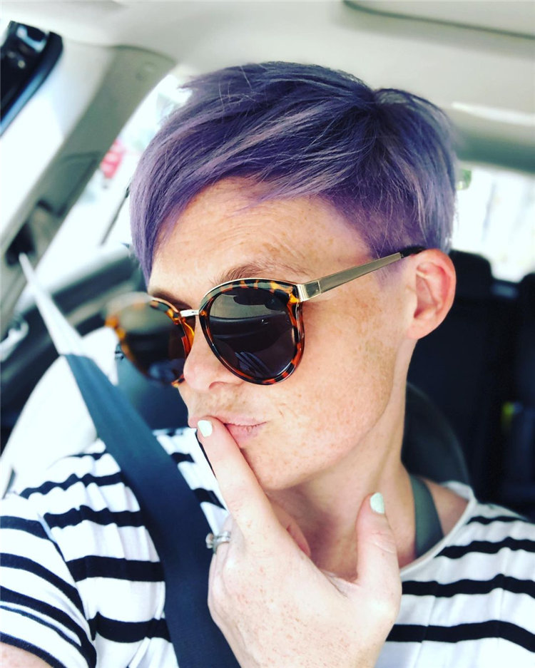 Purple Pixie Cuts Ideas That You Must Try 08