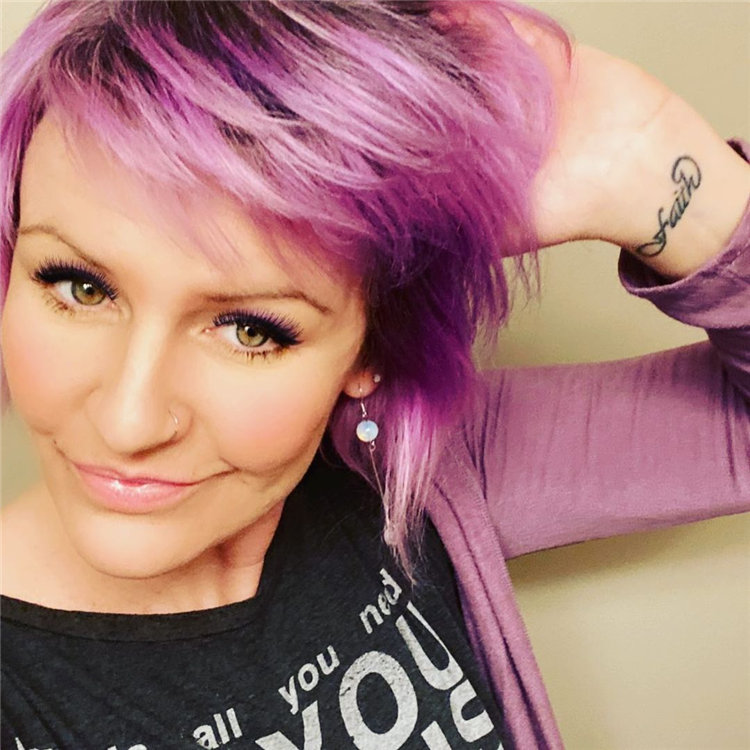 Purple Pixie Cuts Ideas That You Must Try 09