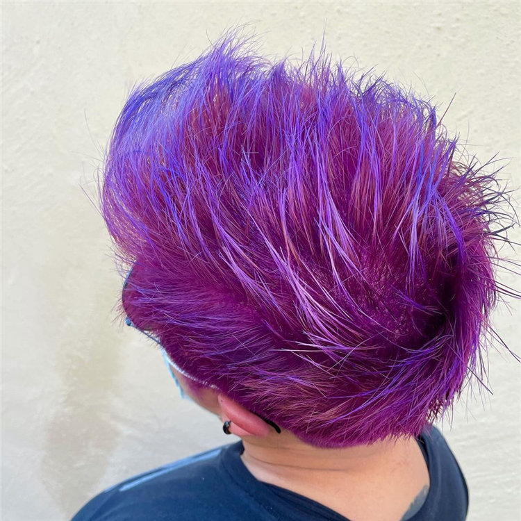 Purple Pixie Cuts Ideas That You Must Try 15