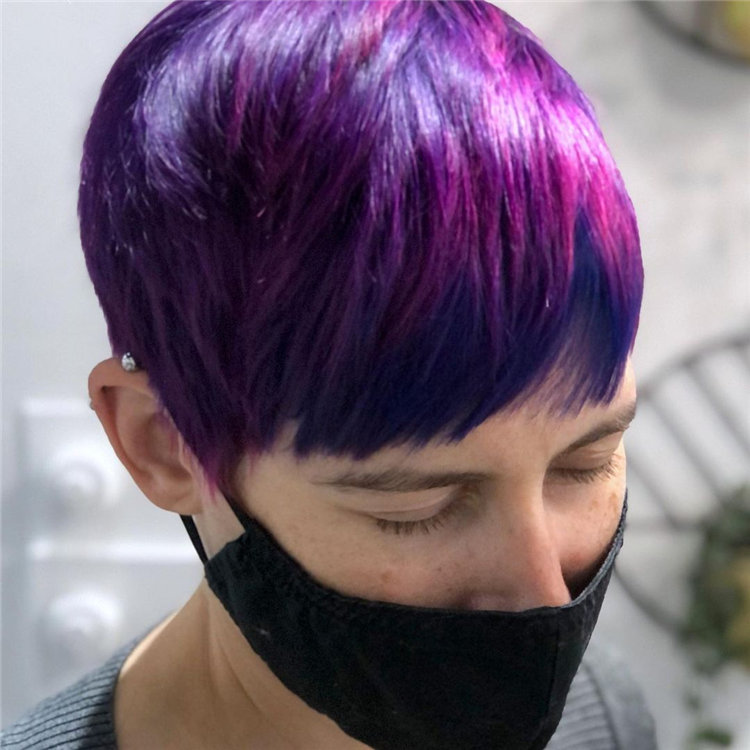 Purple Pixie Cuts Ideas That You Must Try 22