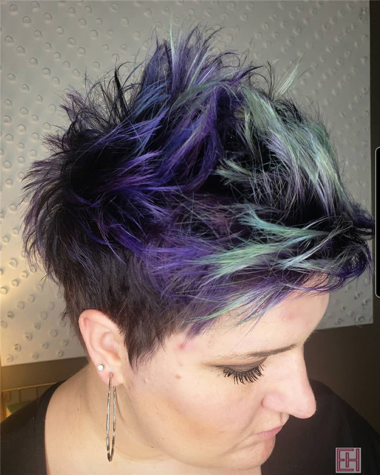 Purple Pixie Cuts Ideas That You Must Try 23