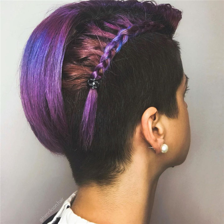 Purple Pixie Cuts Ideas That You Must Try 24