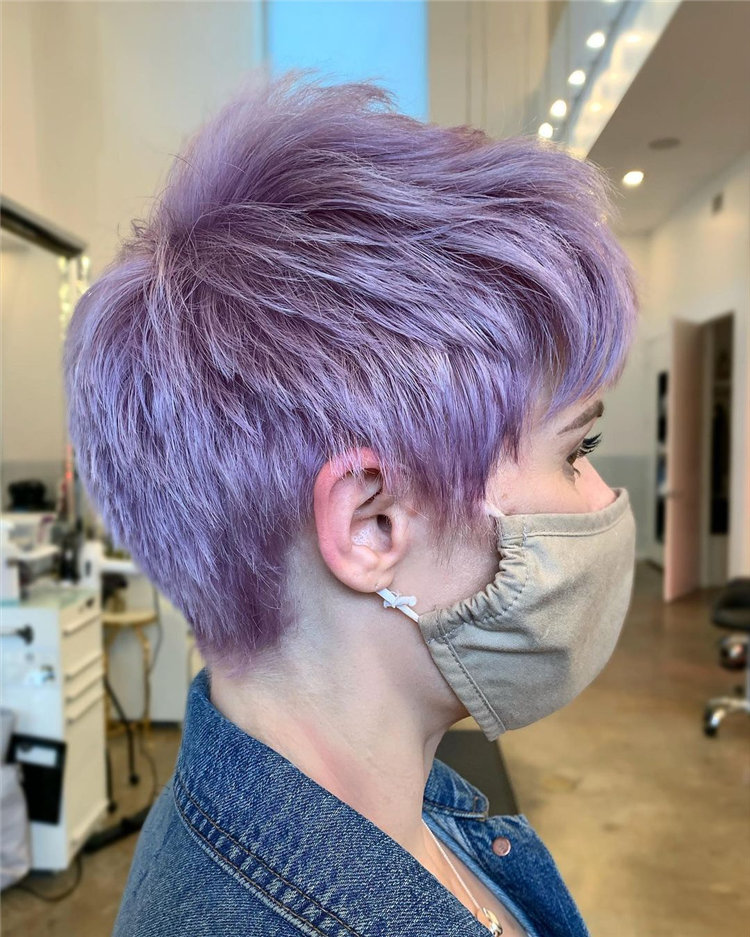Purple Pixie Cuts Ideas That You Must Try 25