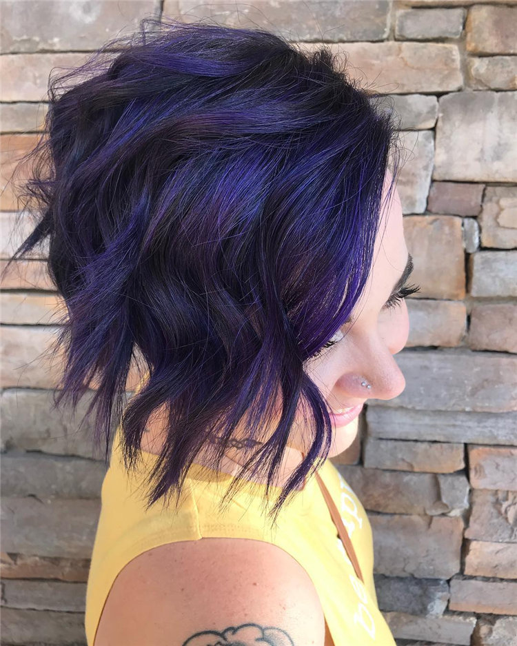 Purple Pixie Cuts Ideas That You Must Try 27