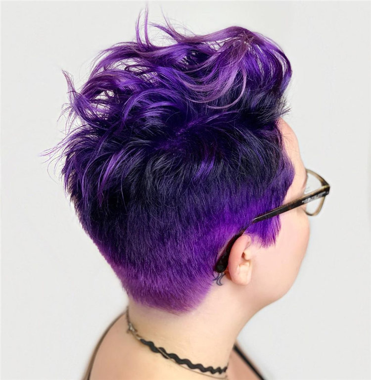 Purple Pixie Cuts Ideas That You Must Try 28