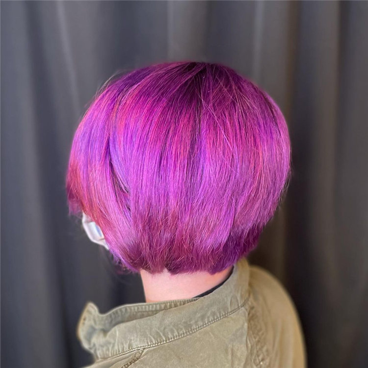 Purple Pixie Cuts Ideas That You Must Try 31