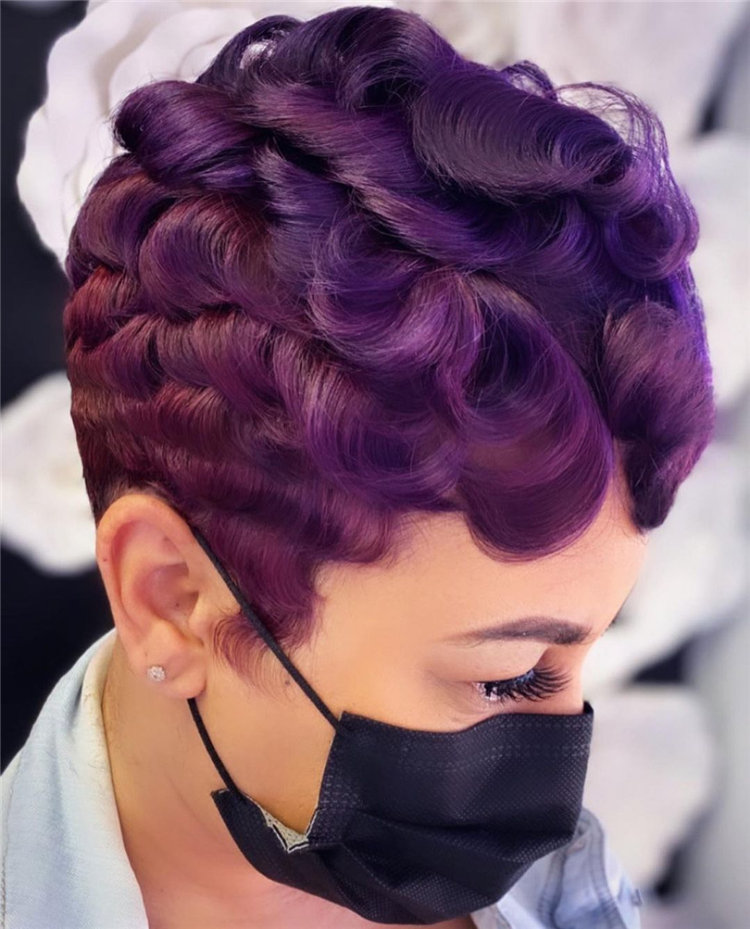 Purple Pixie Cuts Ideas That You Must Try 32