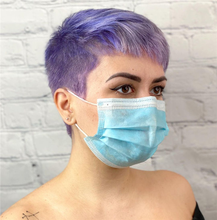 Purple Pixie Cuts Ideas That You Must Try 34