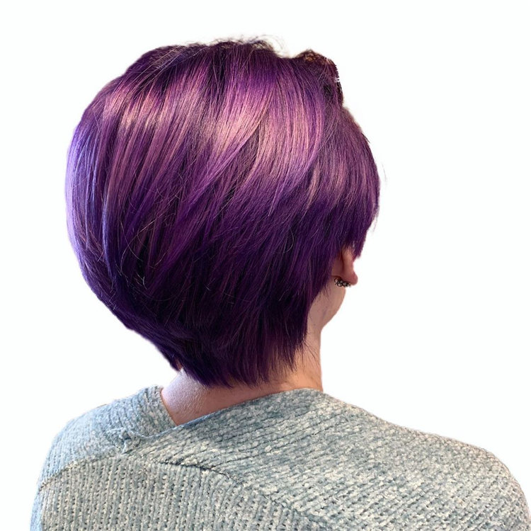 Purple Pixie Cuts Ideas That You Must Try 36