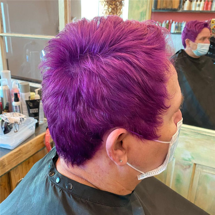 Purple Pixie Cuts Ideas That You Must Try 39