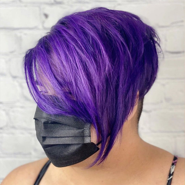 Purple Pixie Cuts Ideas That You Must Try 40