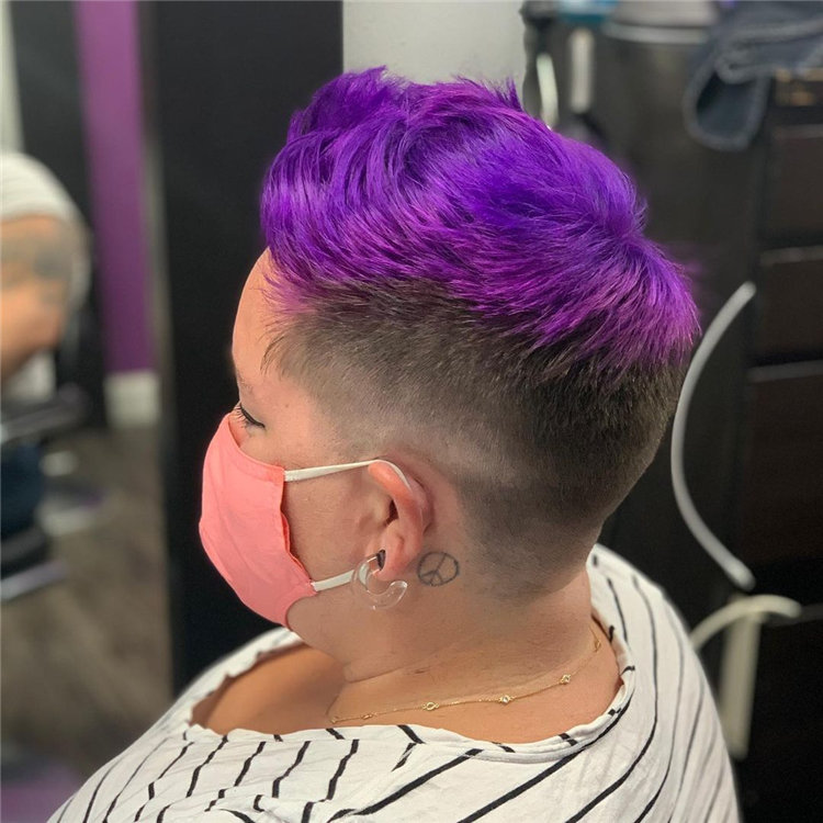 Purple Pixie Cuts Ideas That You Must Try 43