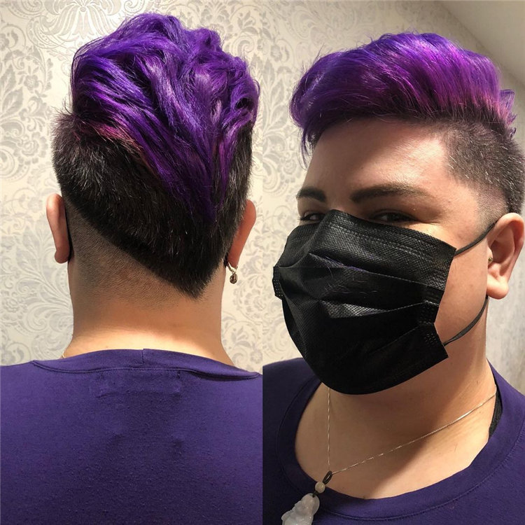 Purple Pixie Cuts Ideas That You Must Try 53