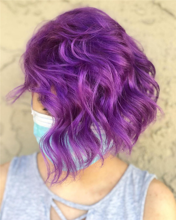 Purple Pixie Cuts Ideas That You Must Try 56