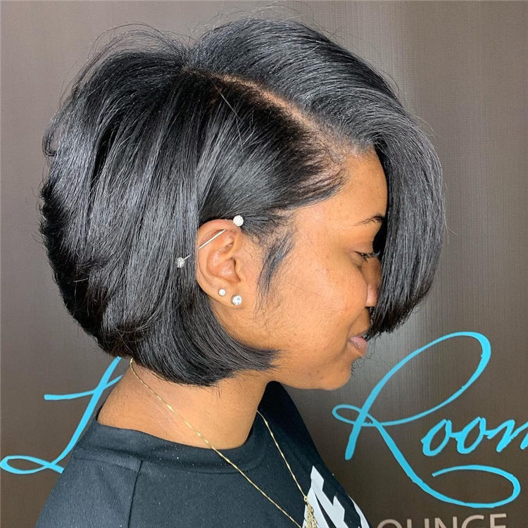 Short Layered Bob 1