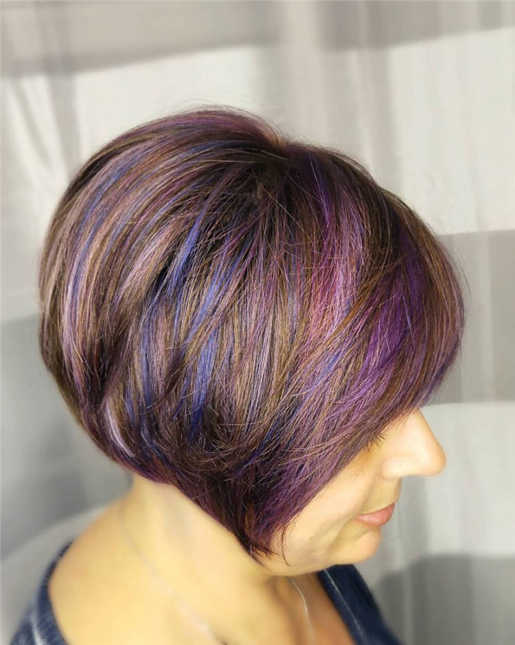 Colorful Hair for Women Over 50