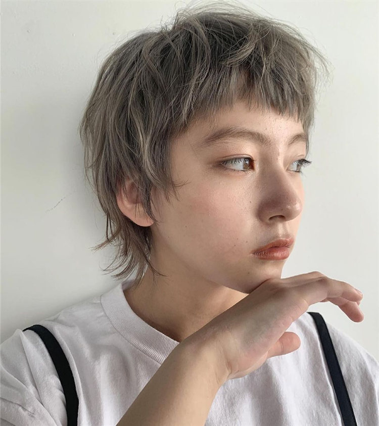Grey Japanese Hair