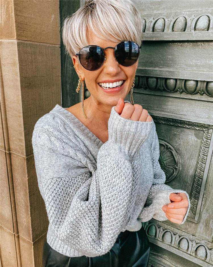Incredible Short Hairstyles for Women 2021 01