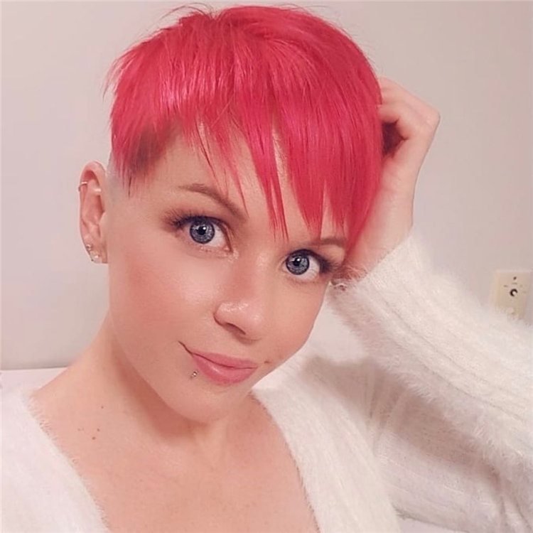 Incredible Short Hairstyles for Women 2021 100
