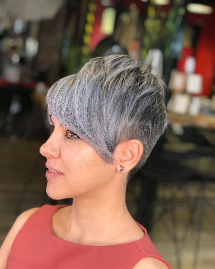 Incredible Short Hairstyles for Women 2021 45