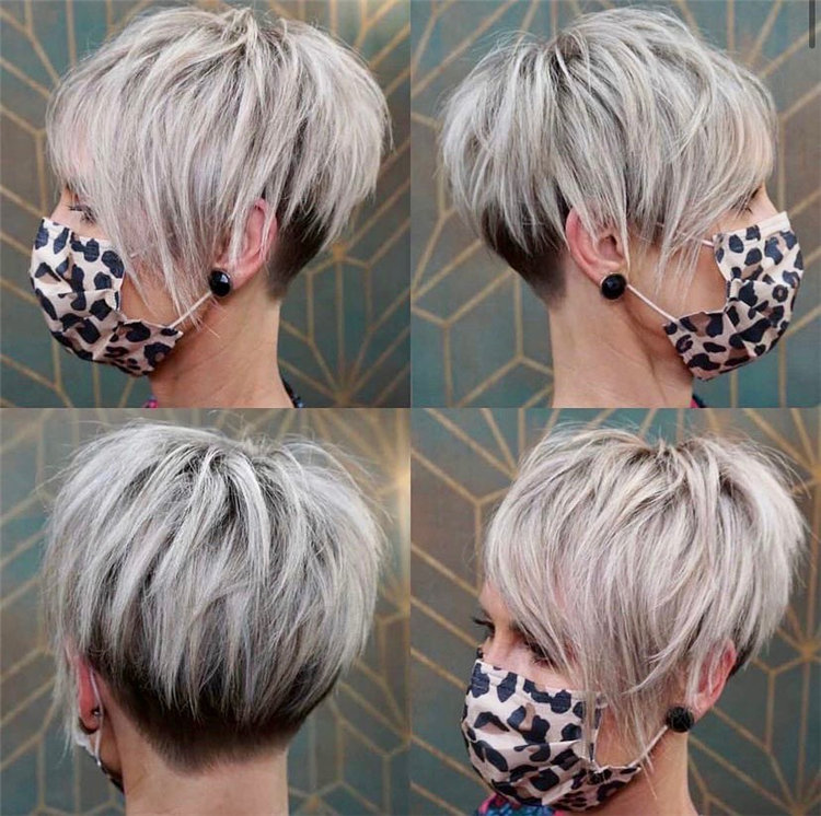 Incredible Short Hairstyles for Women 2021 67