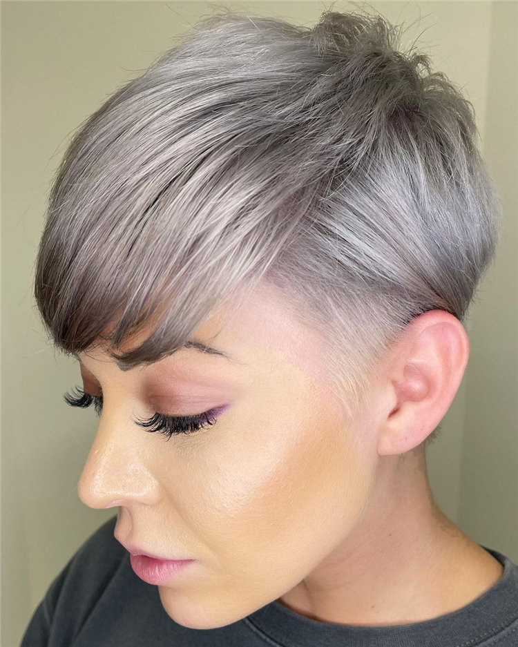 Incredible Short Hairstyles for Women 2021 82