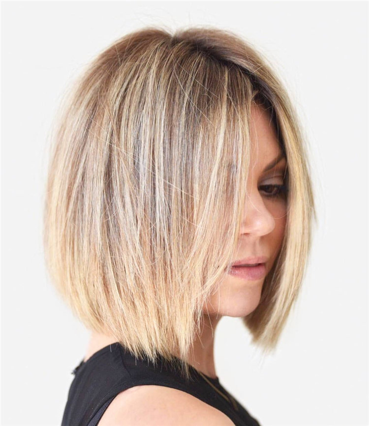 Inverted Bob Haircuts Women with Winning Looks 01