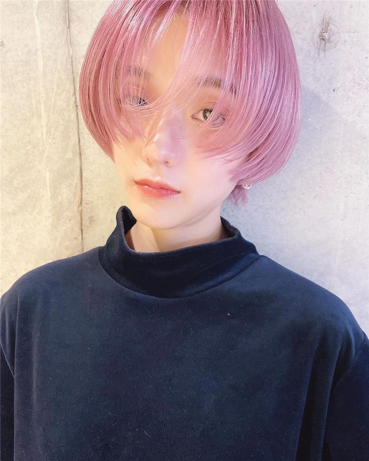 Pink Anime Style