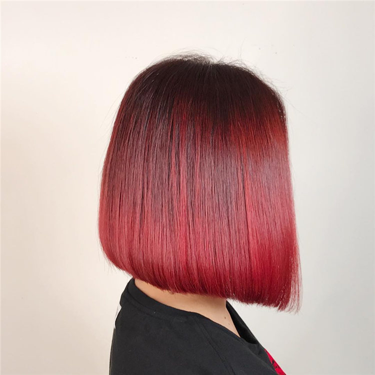 Red Bob Style