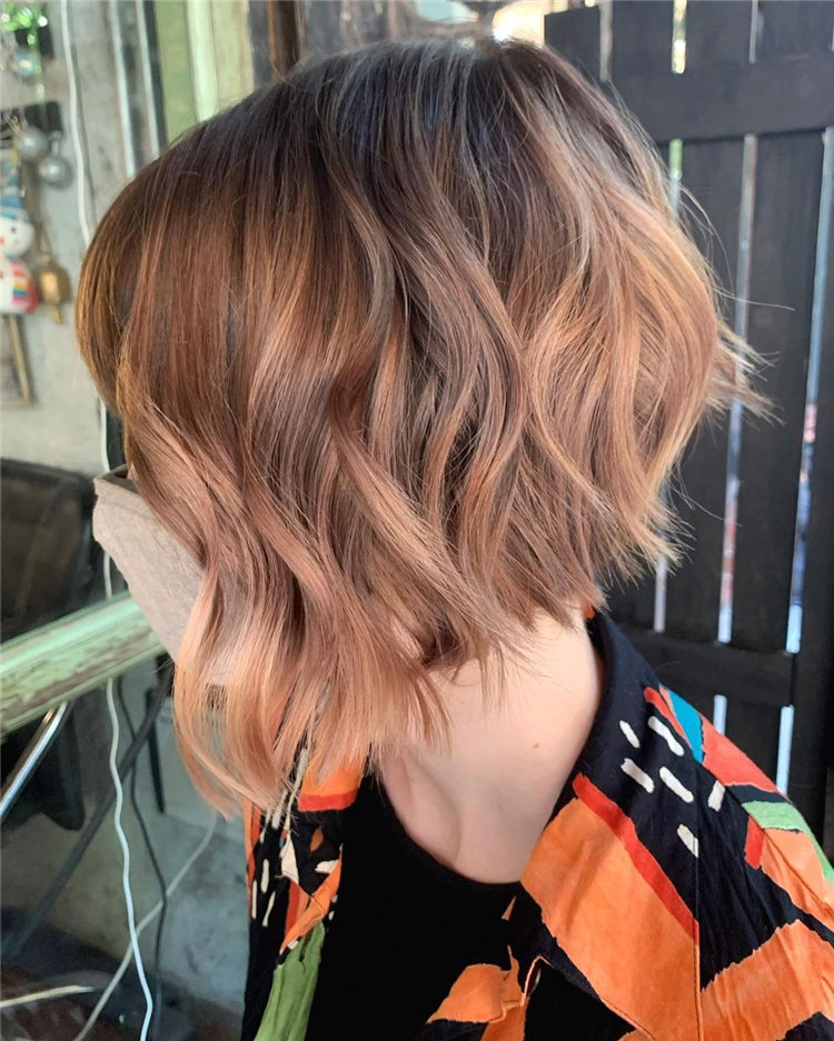 Short Asymmetrical Bob Haircuts to Copy Asap 01