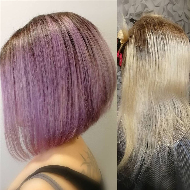 Short Asymmetrical Bob Haircuts to Copy Asap 03