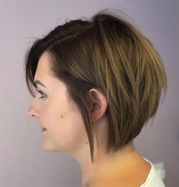 Short Asymmetrical Bob Haircuts to Copy Asap 09