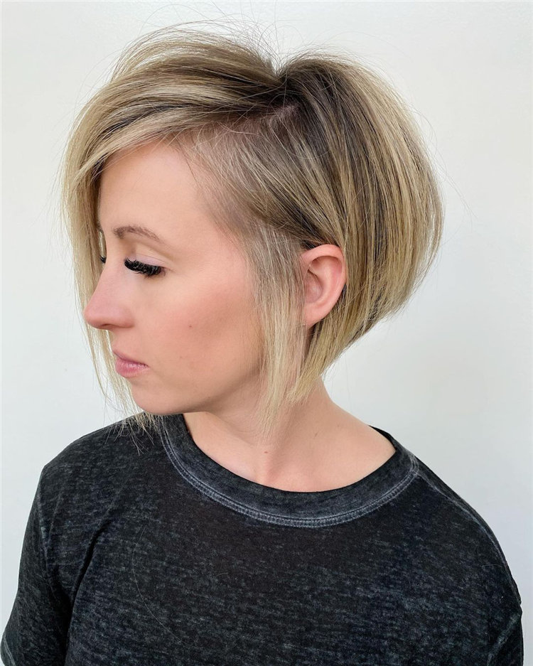 Short Asymmetrical Bob Haircuts to Copy Asap 11