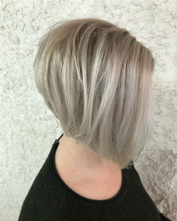 Short Asymmetrical Bob Haircuts to Copy Asap 32