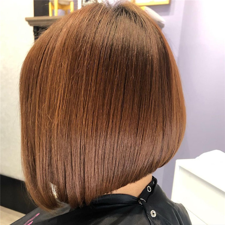 Short Asymmetrical Bob Haircuts to Copy Asap 44