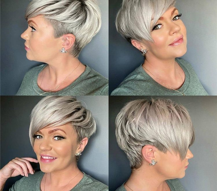 Short Pixie Haircuts 2021 for Women 30