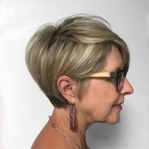 Short and Sweet Pixie Cut