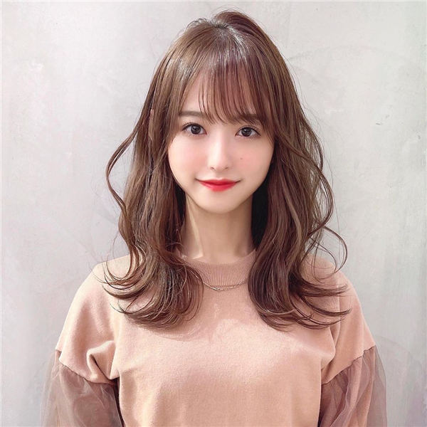 Cute Japanese Long Hairstyle
